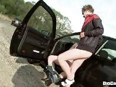 outinpublic - Hitchhiking For Outdoor Anal Sex From Dudes!