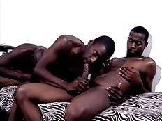 Pleasure and Hot Boi are tough black gay men with macho bodies and big manpoles. Watch them show it off and unleash their hunger for guzzling cocks. These guys are hot and both well equipped with big black dicks ready to pound each others juicy ass.. Plea