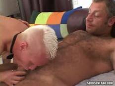 Studs Over 40 - Christian Luke and Marc Winters Getting their Big Cocks Satisfied