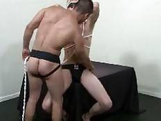Rick Romo and Logan Stevens. Hot Barebacking
