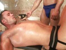 MAN HUNGRY, Scene 4. Freddy Costa, Antonio Russo, Max Summers