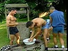 bigcocks and jocks - Lumberjacks Fill A Lot More Then Their Quota!