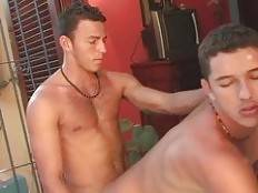 If seeing two muscled and hairy gay men naked and having sex seem appetizing to you, then you will love this movie with Antonio De Capos and Castel Lorenzo. Theres nothing better for them that treating each others pleasure holes rough and nasty.. Antonio