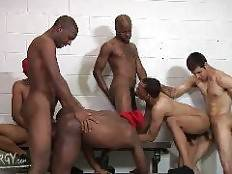 Intrigue, Marquez, Blaze, Brooklyn and Mr. Young Gun. Thug Orgy