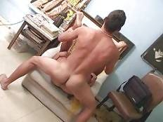 Cute Latino Llucas de Donas is a boy-next-door type bottom looking to get laid on a Friday night. He meets Rico Vidal and wastes no time letting his intentions known. Llucas invites his new friend over to his place and gets his ass pounded.. Rico Vidal Ll