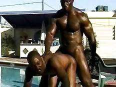 Bad Boy, Bobby Blake, Damian Diaz, Eric Long, Flex-Deon Blake, Mark and Mitch Ray. thug orgy